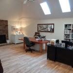 Unused Attic Turned Artist Studio