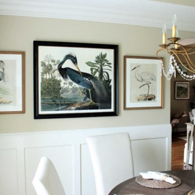Easy! 3 steps to a grand 'small' dining room
