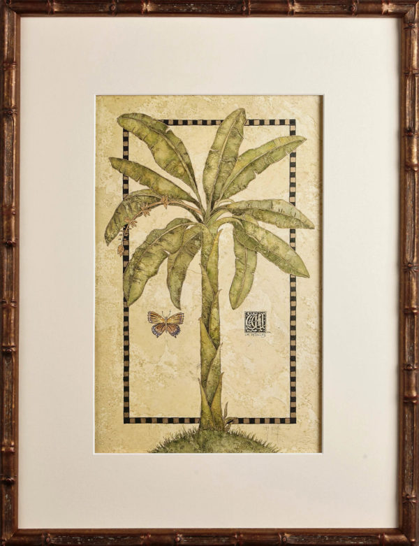 Banana Art, One Coast Design, Michelle Woolley Sauter