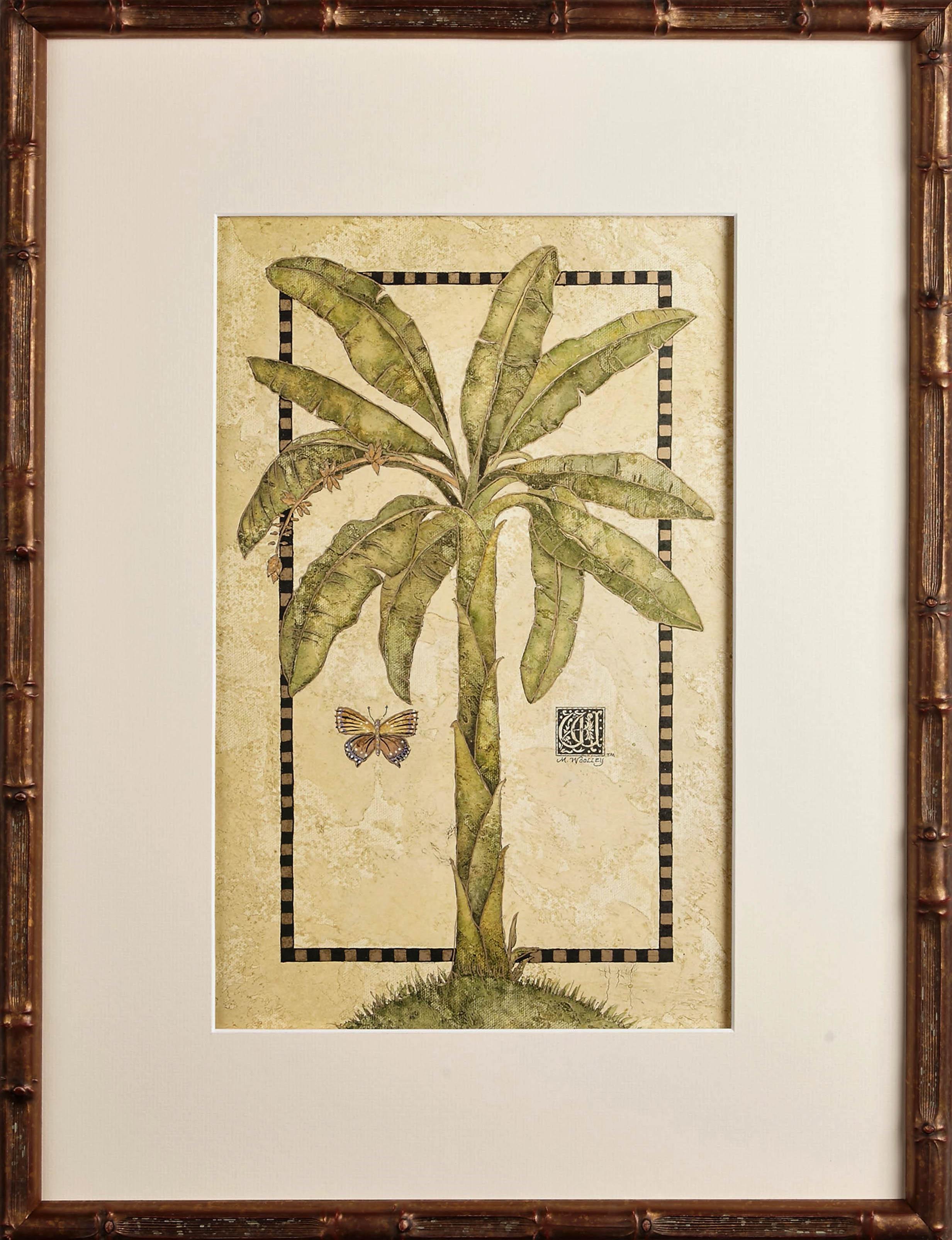 Tropical Banana in Golden Bamboo | One Coast Design