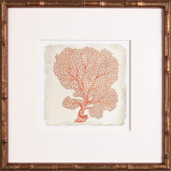 coral artwork, One Coast Design, Michelle Woolley Sauter