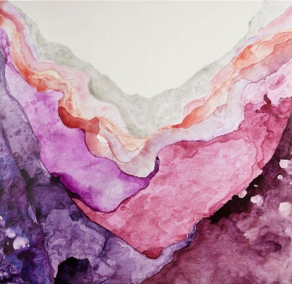 abstract art, One Coast Design, Michelle Woolley Sauter