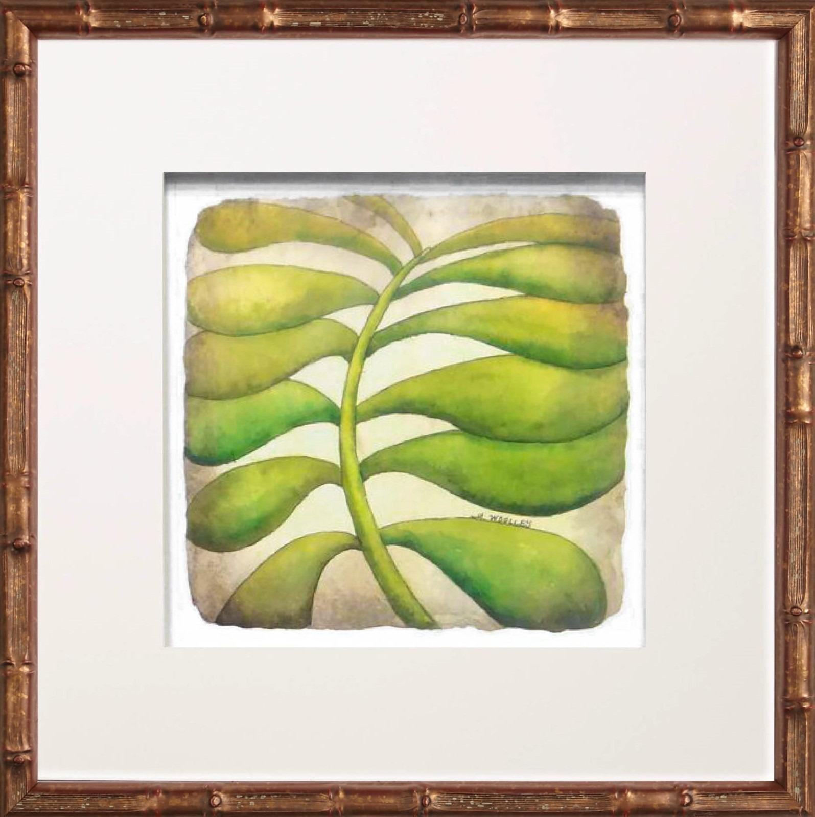 Succulent #2 in Golden Bamboo | One Coast Design