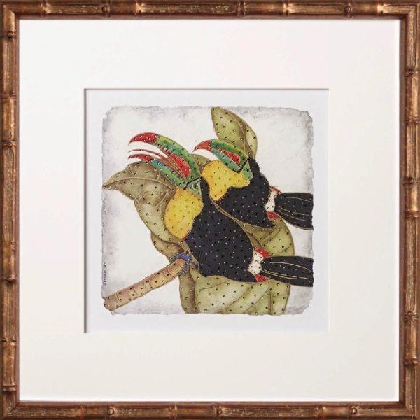 Bird Art, One Coast Design, Michelle Woolley Sauter