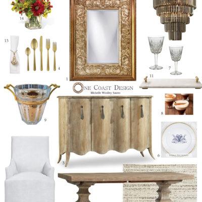 Versailles Mirror, One Coast Design, Michelle Woolley Sauter, Mirror