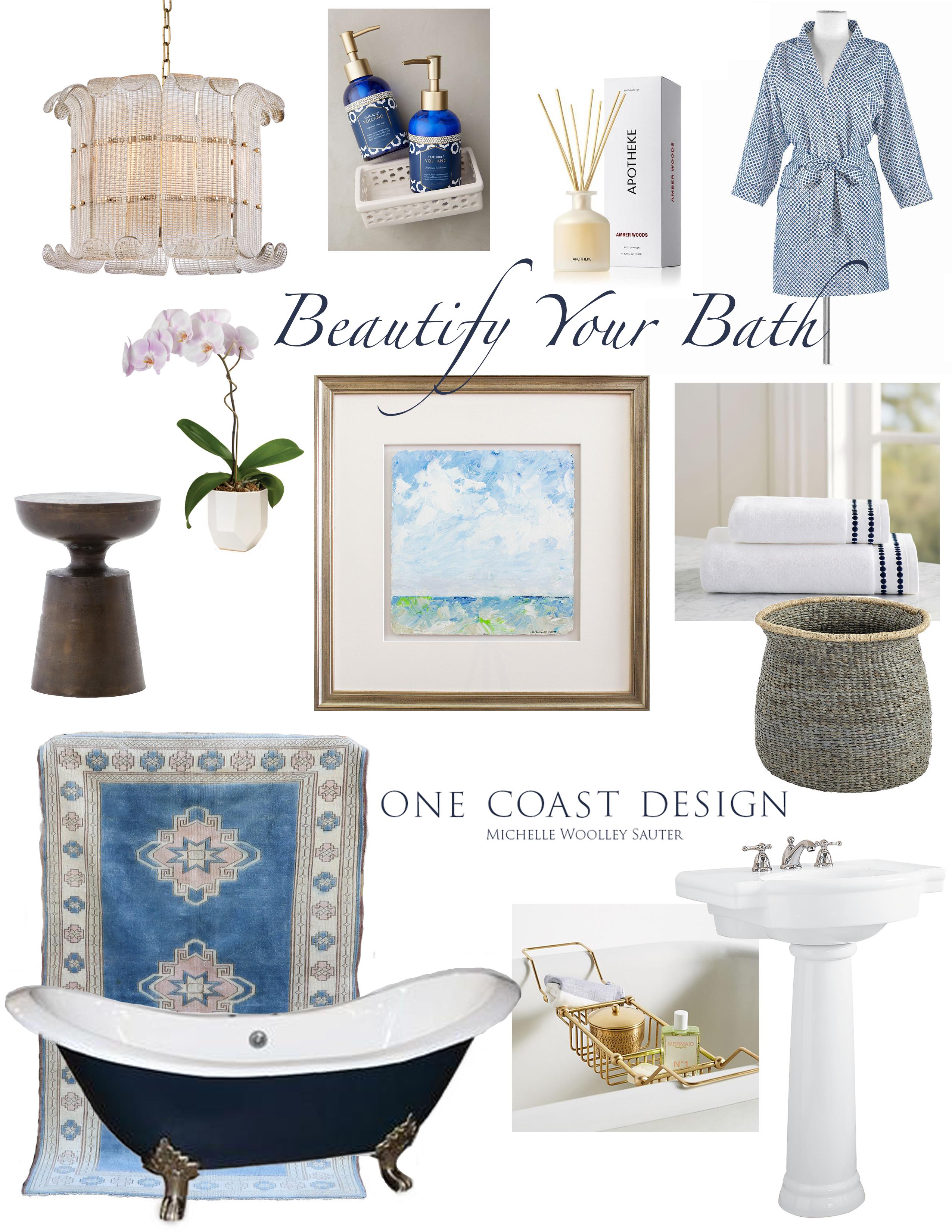 Beautify Your Bath, Bathroom Ideas, Summersville SC Interior Design, One Coast Design