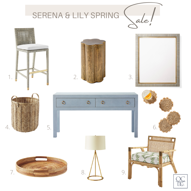Spring Sale items from Serena and Lily
