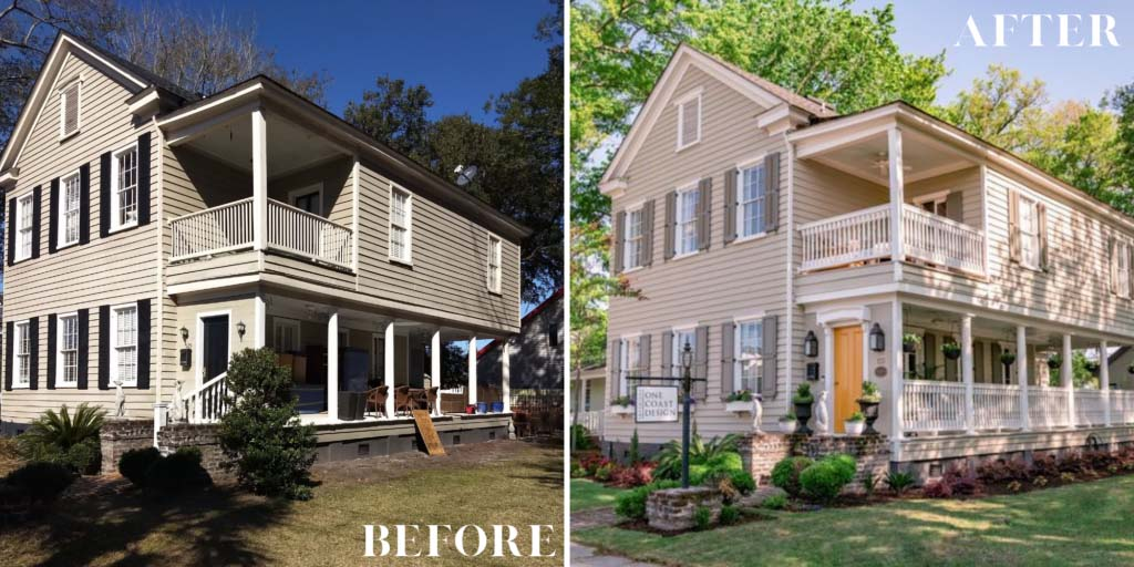 Before & After Historic Renovations