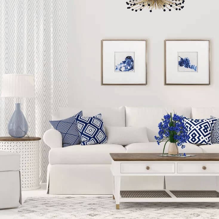 Blue Mood Artwork - Shop One Coast Design