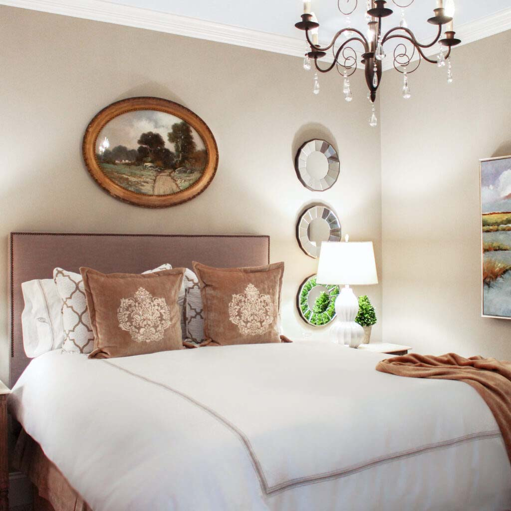 Guest bedroom project in Eastern North Carolina.